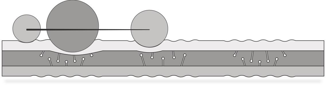 Materasso tenderly disegno laterale