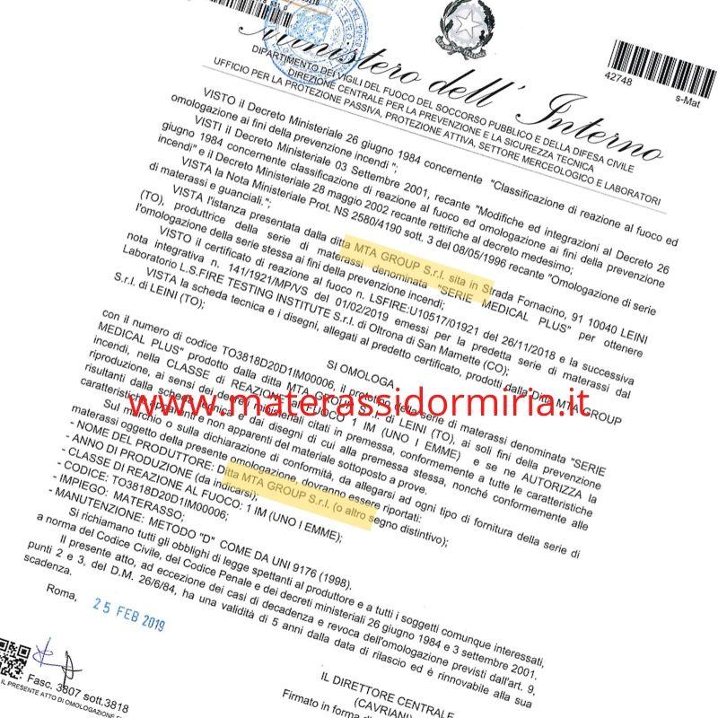 Certificazione-ignifuga-materasso